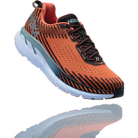 Hoka One One Clifton 5 Running Shoes Men Nasturtium/Phantom